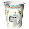 DISCONTINUED HAPPI WDLND BOY CUP 9 OZ PARTY SUPPLIES