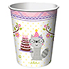 DISCONTINUED HAPPI WDLND GIRL CUP 9 OZ PARTY SUPPLIES