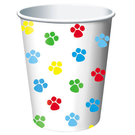 Click for larger picture of PAW-TY TIME! HOT/COLD CUP (96/CS) PARTY SUPPLIES