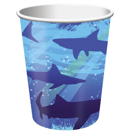 Click for larger picture of SHARK SPLASH HOT/COLD CUP (96/CS) PARTY SUPPLIES