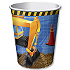 DISCONTINUED UNDER CONSTRUCTION CUP PARTY SUPPLIES