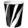 ANIMAL PRINT - ZEBRA HOT/COLD CUP PARTY SUPPLIES