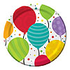 SHIMMERING BALLOONS DESSERT PLTE PARTY SUPPLIES