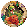 DINO BLAST DESSERT PLATE PARTY SUPPLIES