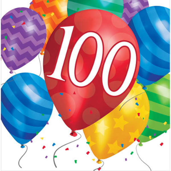 100th Birthday Party Supplies For 100 Year Celebrations
