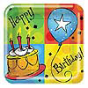CAKE CELEBRATION DESSERT PLATE (96/CS) PARTY SUPPLIES