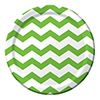 CHEVRON/DOTS-LIME DINNER PLATES PARTY SUPPLIES