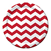 CHEVRON/DOTS-RED DINNER PLATES PARTY SUPPLIES