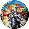 DISCONTINUED VALIANT KNIGHT DINNER PLATE PARTY SUPPLIES