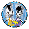 DISCONTINUED ZOU DINNER PLATES PARTY SUPPLIES