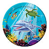 OCEAN PARTY DINNER PLATE PARTY SUPPLIES