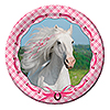 HEART MY HORSE DINNER PLATES PARTY SUPPLIES
