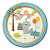 DISCONTINUED HAPPI WDLND BOY DINNR PLATE PARTY SUPPLIES