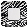 ANIMAL PRINT - ZEBRA DINNER PLATE PARTY SUPPLIES
