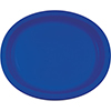 COBALT OVAL PLATTER 10X12 INCH PARTY SUPPLIES