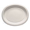 WHITE OVAL PAPER PLATTER PARTY SUPPLIES