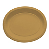 GLITTERING GOLD OVAL PLATTERS (96/CS) PARTY SUPPLIES