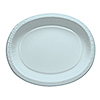PASTEL BLUE PAPER OVAL PLATTERS (96/CS) PARTY SUPPLIES