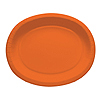 SUNKISSED ORANGE OVAL PLATTERS (96/CS) PARTY SUPPLIES