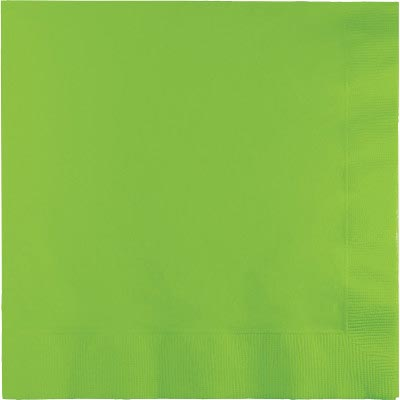 FRESH LIME LUNCH NAPKIN (240/CS) PARTY SUPPLIES