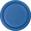 DISCONTINUED ROYAL BLUE DINNER PLATE 8CT PARTY SUPPLIES