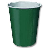 Click for larger picture of HUNTER GREEN  9OZ HOT/COLD CUP (240/CS) PARTY SUPPLIES