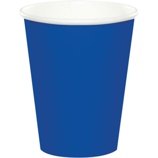 Click for larger picture of COBALT HOT-COLD CUP 9 OZ (240/CS) PARTY SUPPLIES