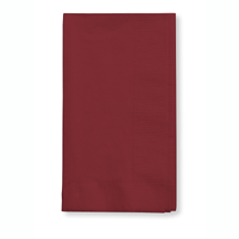 Click for larger picture of BURGUNDY 2 PLY DINNER NAPKIN (600/CS) PARTY SUPPLIES
