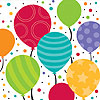 SHIMMERING BALLOONS BEVERAGE NP PARTY SUPPLIES