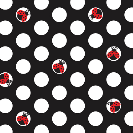Click for larger picture of LADYBUG FANCY BEVERAGE NAPKIN PARTY SUPPLIES