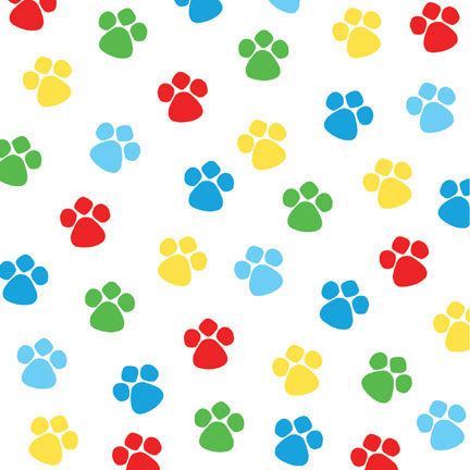 Click for larger picture of PAW-TY TIME! BEVERAGE NAPKIN (216/CS) PARTY SUPPLIES