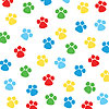 PAW-TY TIME! BEVERAGE NAPKIN PARTY SUPPLIES