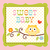 HAPPI TREE BEVERAGE NAPKIN SWEET BABY GI PARTY SUPPLIES