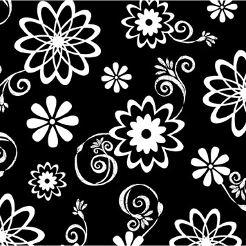 Click for larger picture of DISCONTINUED COSMIC FLOWERS BEVERAGE NAP PARTY SUPPLIES