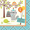 DISCONTINUED HAPPI WD BOY 2ND BD LNCH NP PARTY SUPPLIES