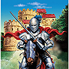 DISCONTINUED VALIANT KNIGHT LUNCH NAPKIN PARTY SUPPLIES
