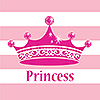 PINK PRINCESS ROYALTY LUNCH NAPKINS (192 PARTY SUPPLIES