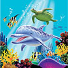 OCEAN PARTY LUNCH NAPKINS PARTY SUPPLIES