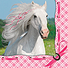 HEART MY HORSE LUNCH NAPKINS PARTY SUPPLIES