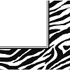 ANIMAL PRINT - ZEBRA LUNCHEON NAPKIN PARTY SUPPLIES