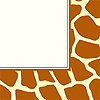 ANIMAL PRINT - GIRAFFE LUNCHEON NAPKIN PARTY SUPPLIES