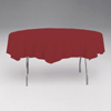 BURGUNDY 82 IN. ROUND PAPER TABLECOVER PARTY SUPPLIES