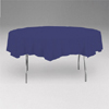 NAVY BLUE 82 IN. ROUND PAPER TABLECOVER PARTY SUPPLIES