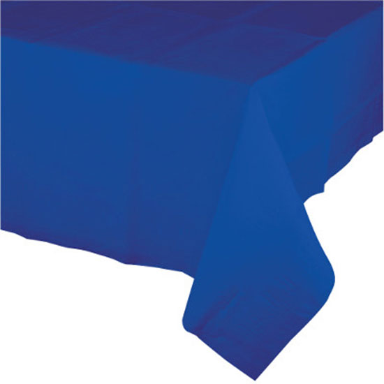 COBALT PAPER 54X108 IN TABLECOVER (6/CS) PARTY SUPPLIES