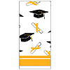 DISCONTINUED YELLOW GRAD TABLECOVER PARTY SUPPLIES