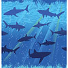 SHARK SPLASH TABLECOVER PARTY SUPPLIES