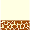 ANIMAL PRINT - GIRAFFE TABLECOVER PARTY SUPPLIES