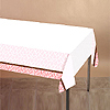 DISCONTINUED WILD SAFARI PINK TABLECOVER PARTY SUPPLIES