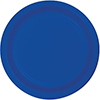 COBALT 7 INCH PAPER PLATE PARTY SUPPLIES