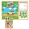 DISCONTINUED SAFARI ADVENTURE PLACEMATS PARTY SUPPLIES